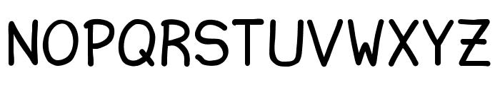 Ninjascript Smallcaps Font UPPERCASE