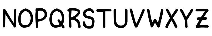 Ninjascript Smallcaps Font LOWERCASE