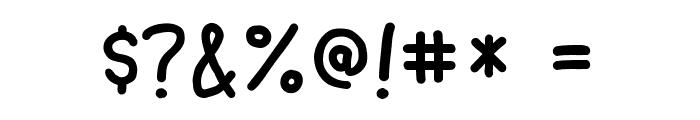 Ninjascript Font OTHER CHARS