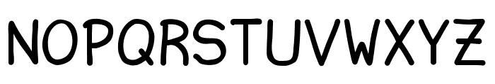 Ninjascript Font UPPERCASE
