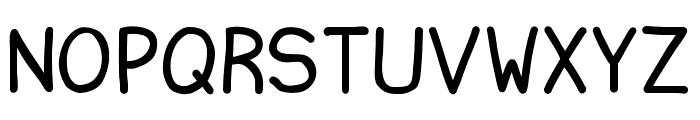Ninjascript Font LOWERCASE