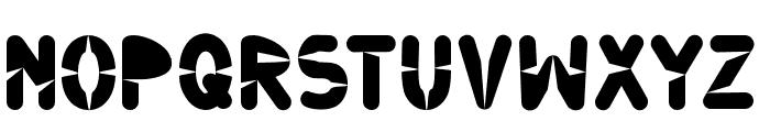 Ninjos Font LOWERCASE
