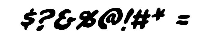 Ninjutsu BB Bold Font OTHER CHARS