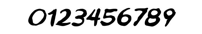 Ninjutsu BB Italic Font OTHER CHARS