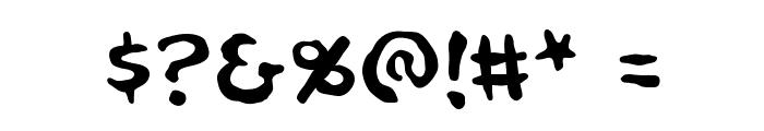 NinjutsuBB Font OTHER CHARS