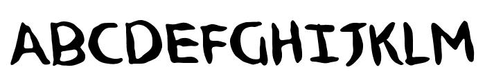 NinjutsuBB Font UPPERCASE