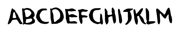 NinjutsuBB Font LOWERCASE