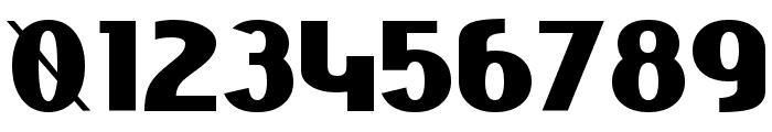 Niobium Black Font OTHER CHARS