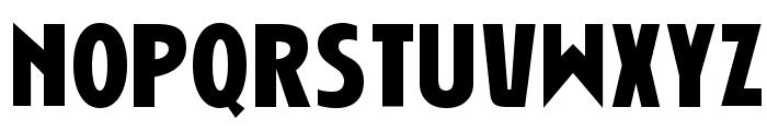 Niobium Font UPPERCASE