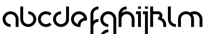 Nioubes bold Font LOWERCASE