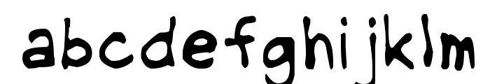 NipCen's Handwriting Light Font LOWERCASE