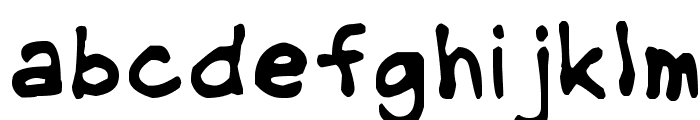 NipCen's Handwriting Regular Font LOWERCASE