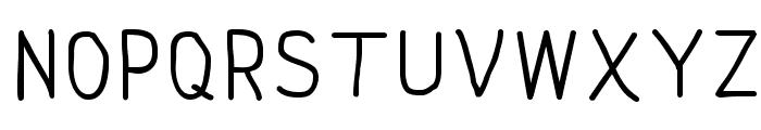 NipCen's Print Unicode Font UPPERCASE