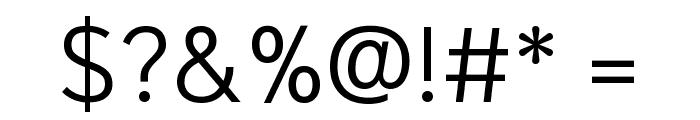 Niramit Light Font OTHER CHARS