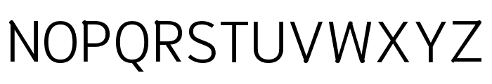 Niramit Light Font UPPERCASE
