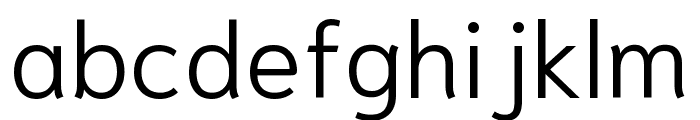 Niramit Light Font LOWERCASE
