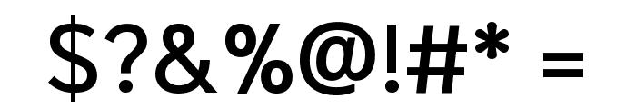 Niramit Medium Font OTHER CHARS