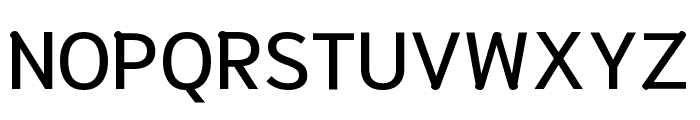 Niramit Medium Font UPPERCASE