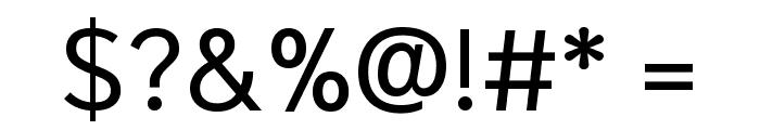Niramit Regular Font OTHER CHARS