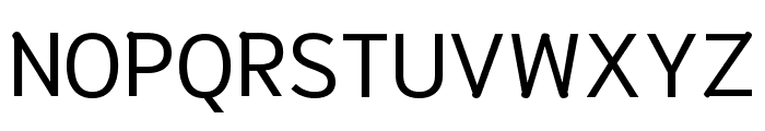 Niramit Regular Font UPPERCASE