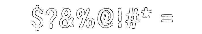 Nirepnirun oknalb Font OTHER CHARS