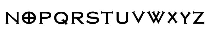 Nirvana Roman Font UPPERCASE