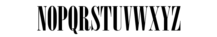 Nirvana Font UPPERCASE