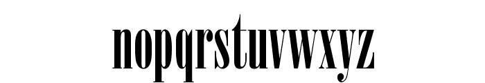 Nirvana Font LOWERCASE