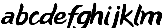 NiseBuschGardens Font LOWERCASE