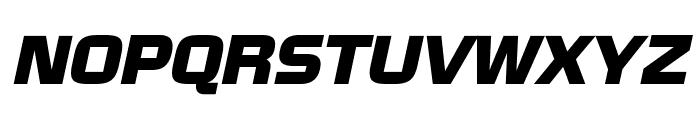 NissanOpti-Italic Font UPPERCASE
