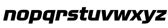 NissanOpti-Italic Font LOWERCASE