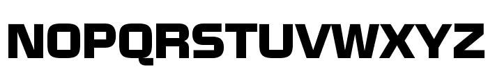 NissanOpti Font UPPERCASE