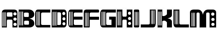 Nix Font UPPERCASE