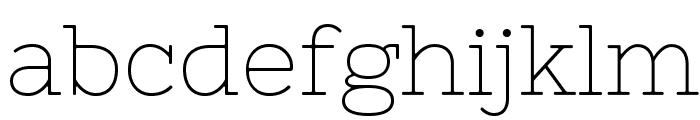 Nixie One Font LOWERCASE
