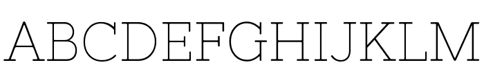 NixieOne Font UPPERCASE