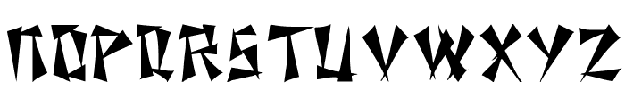 Nixon Regular Font UPPERCASE