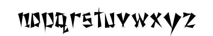 Nixon Regular Font LOWERCASE