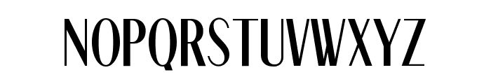 Nizza Regular Font UPPERCASE