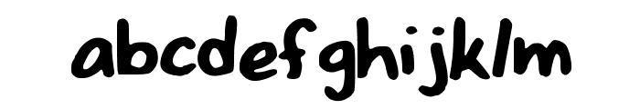 NizzysFonty Font LOWERCASE