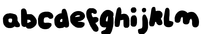 nici-chunckiee Font LOWERCASE