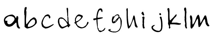nihat Font LOWERCASE