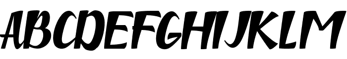 niken Font UPPERCASE