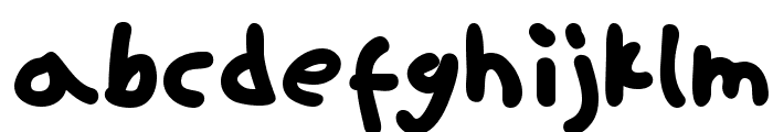 ninifont regular Font UPPERCASE