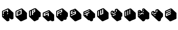 nippon blocks Font UPPERCASE