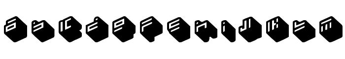 nippon blocks Font LOWERCASE