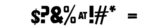 nittenaattifire Font OTHER CHARS