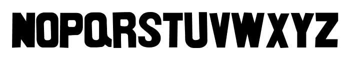 nittenaattifire Font UPPERCASE