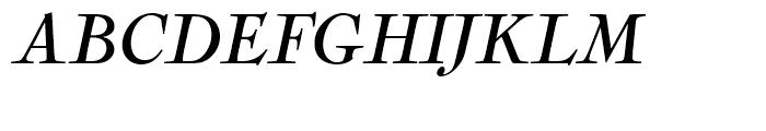 Nicolas Cochin Regular Italic Font UPPERCASE