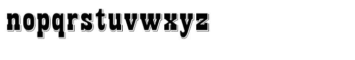 Night Train Regular Font LOWERCASE