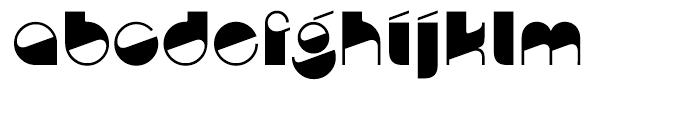 Nightclubber Regular Font LOWERCASE